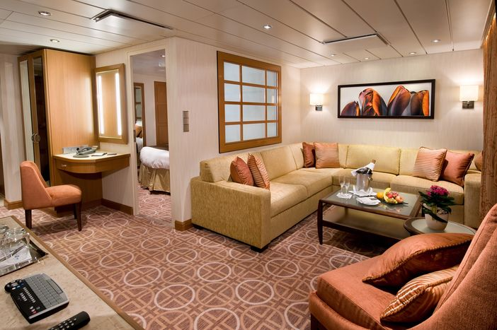 Celebrity suite on Solstice ship