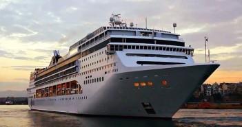 MSC Opera leaving Piraeus