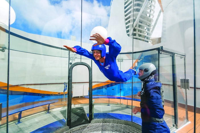 Man enjoying RipCord by iFly