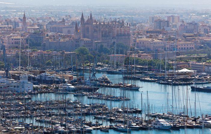 Palma de Mallorca yacht harbour
