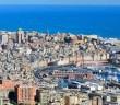 Port of Genoa, a Mediterranean city in Italy