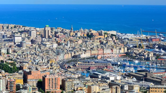 Port Of Genoa Italy A Mediterranean Cruising Stop That
