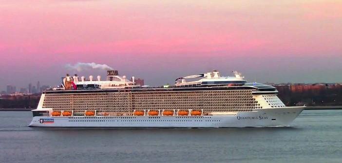 Quantum of the Seas departing New York