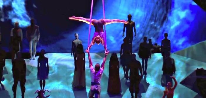 Cirque du Soleil on the MSC Cruises' next-generation Meraviglia ships