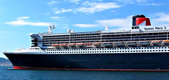 Queen Mary 2 with Carinthia Lounge