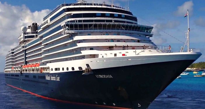 Holland America Line S Ms Eurodam Cruise Ship Receives