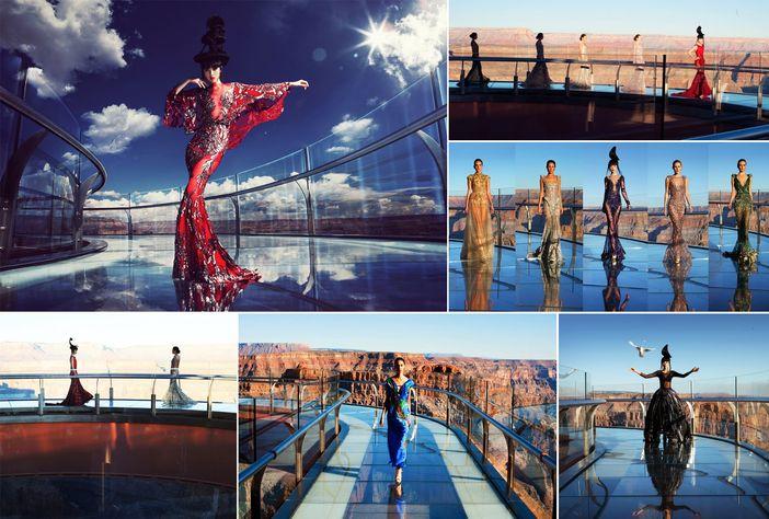 J Autumn Fashion Show on Grand Canyon Skywalk