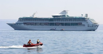 Cruise guests on private shore excursions