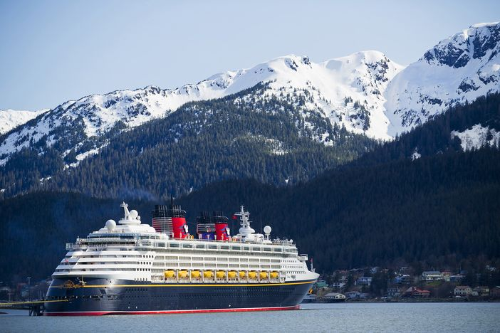 Disney Wonder sails to Juneau, Alaska