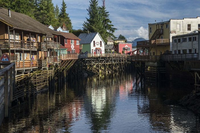 Ketchikan, as part of an Alaska cruise itinerary
