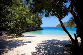 Labadee's beautiful beach
