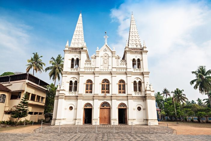 A must-see Cochin attraction: Santa Cruz Basilica