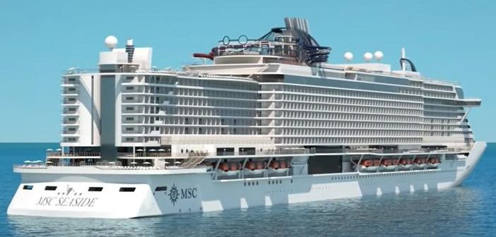 New ship of MSC Cruises
