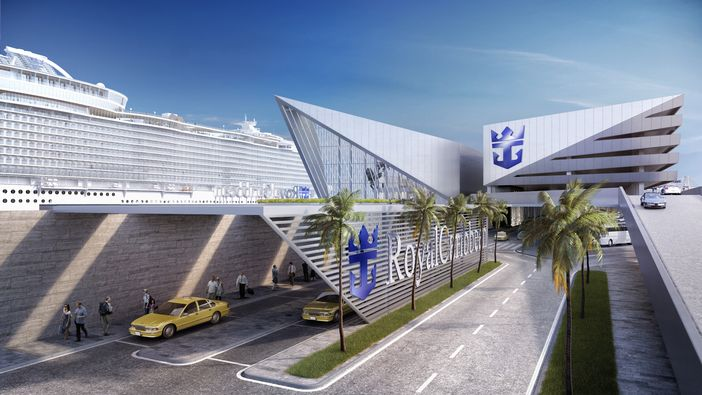 Design of New Royal Caribbean cruise terminal