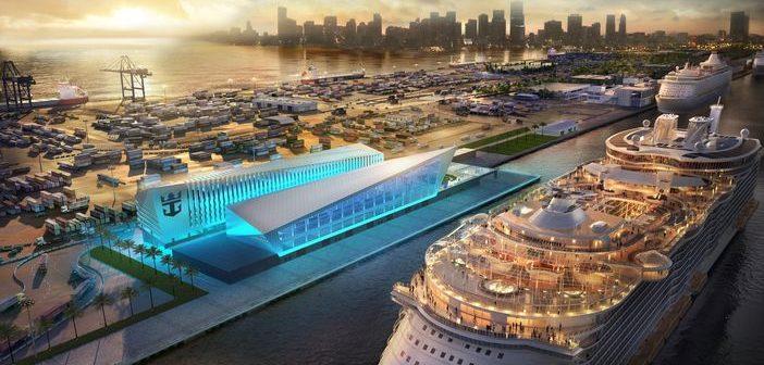 Royal Caribbean cruise terminal