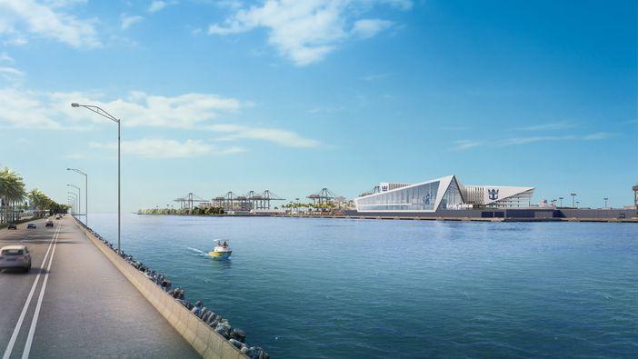 New Royal Caribbean cruise terminal plan