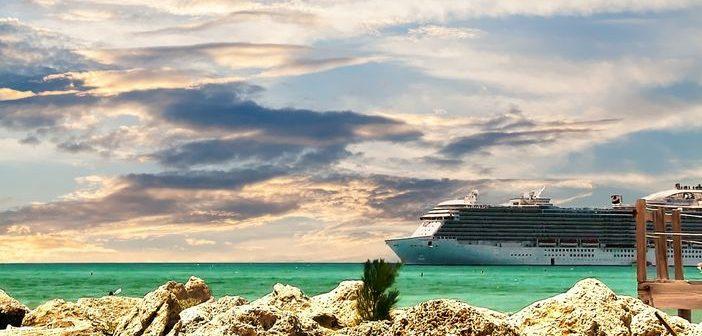 Princess ship at Princess Cays