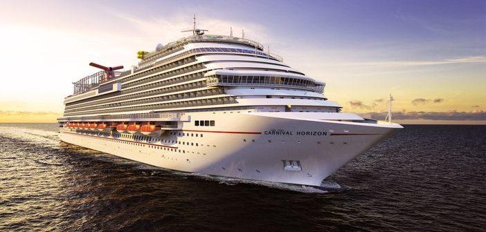 Carnival Horizon, the new Vista class ship