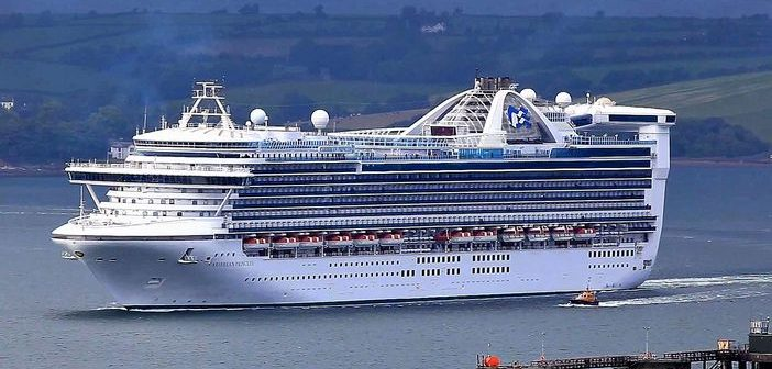 Caribbean Princess refurbishment