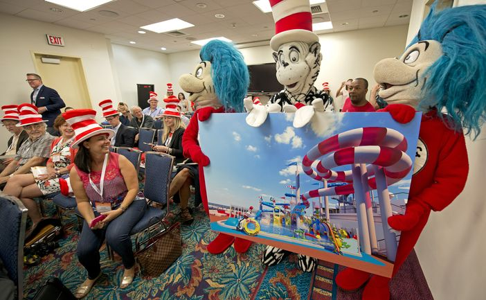 Dr. Seuss WaterWorks characters