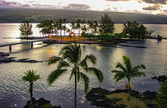 Coconut Island in Hilo, Hawaii