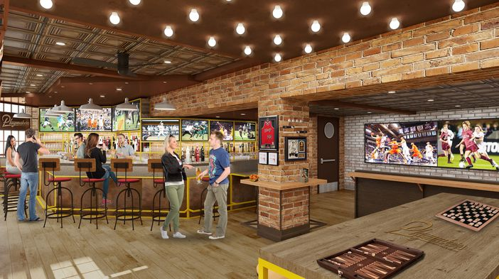 Playmakers Sports Bar & Arcade on Symphony of the Seas