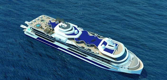 Celebrity Cruises' new ship, Celebrity Flora