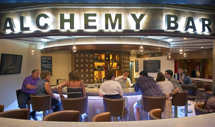 Alchemy Bar after Carnival Fascination refurbishment