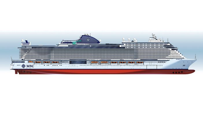 Msc Cruises Introduces Two New Seaside Evo Ships In