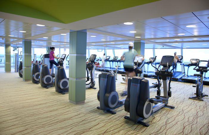 Celebrity Eclipse's fitness center