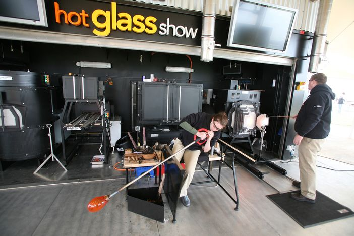 Hot Glass Show on Celebrity Eclipse