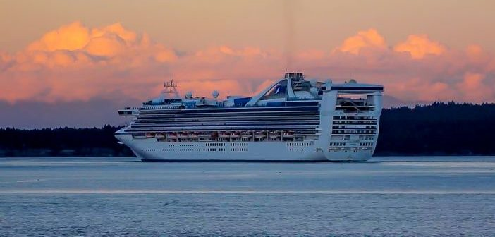 Star Princess departing Vacncouver
