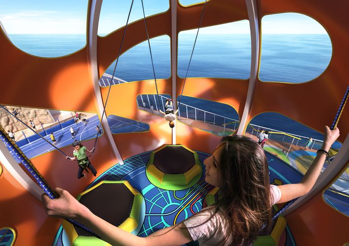 Inside in Mariner of the Seas' Sky Pad