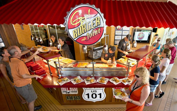 Carnival Paradise: Guy's Burger Joint