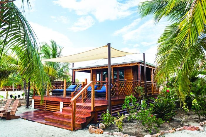 Harvest Caye villa