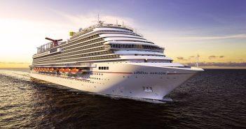 Carnival Horizon at sea