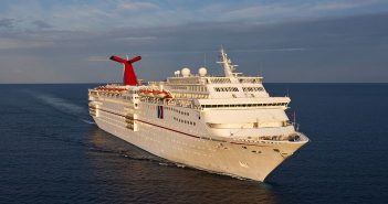 Carnival Sensation at Sea