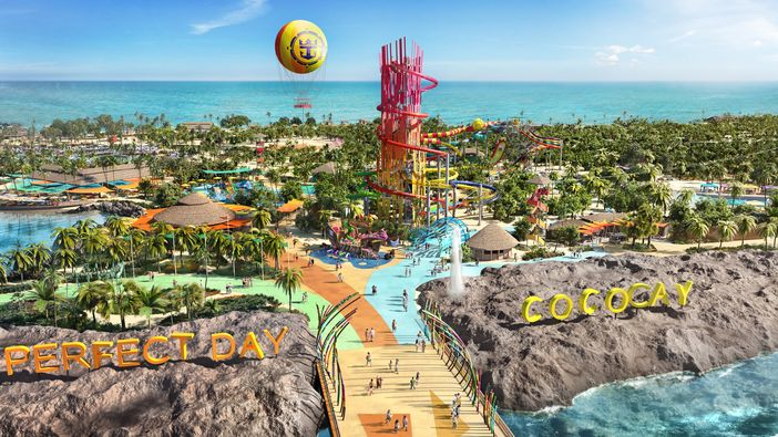 Overview of CocoCay - the first Perfect Day Island Collection
