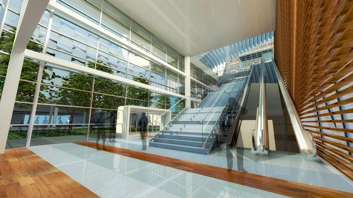 NCL terminal interior