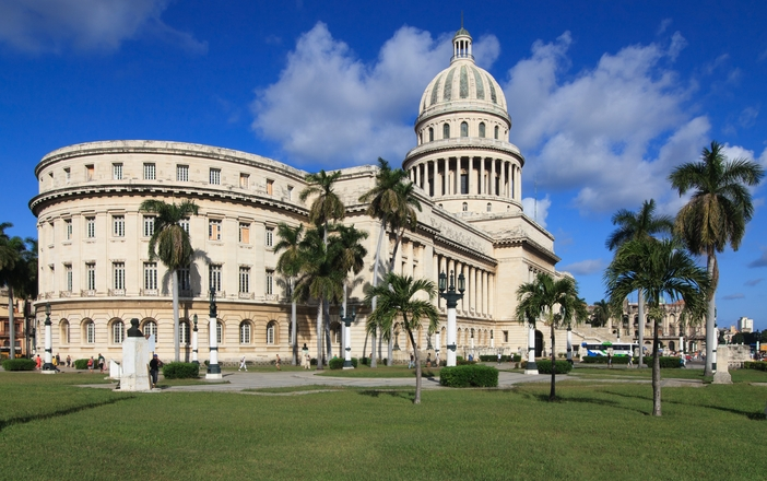 Capitolio, the symbol of Havana, Cuba