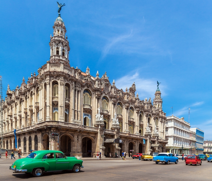 Cuba sights to see: Gran Teatro de la Habana