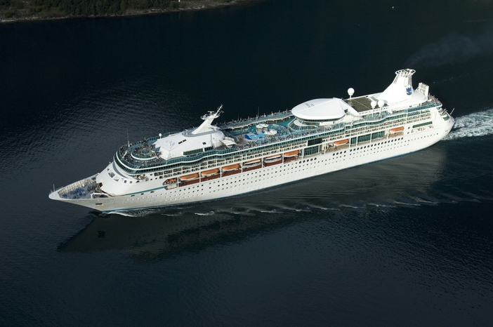 Vision of the Seas sailing the Norwegian Fjords