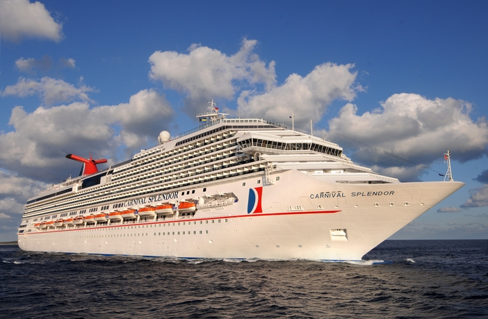 Carnival Splendor in the Bahamas