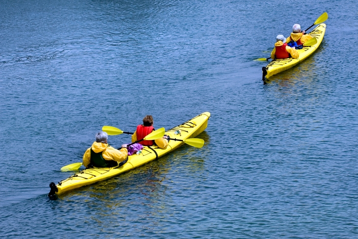 Kayaking is one of the best things to do in Bar Harbor