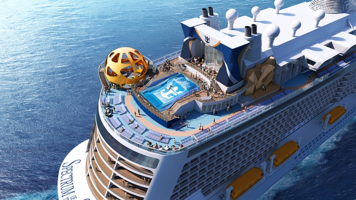 Innovative Features Are Introduced On Royal Caribbean S New Ship Spectrum Of The Seas Cruise