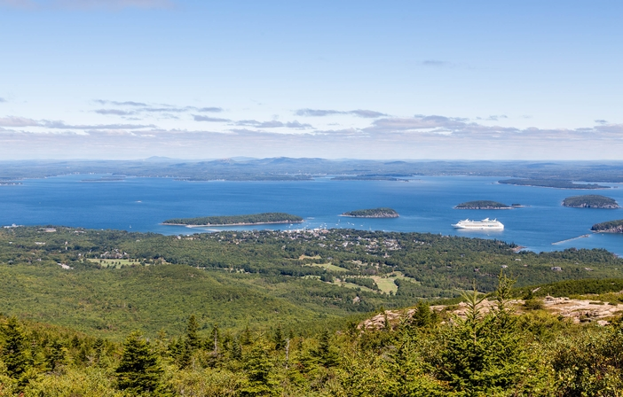 Cadillac Mountain, Bar Harbor, Maine