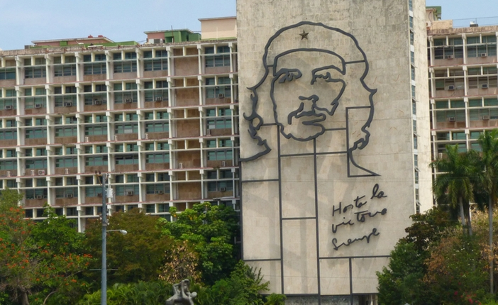 Che Guevara Image On Building