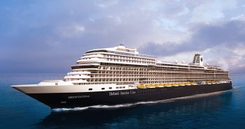 Rendering of Holland America's new ship, Nieuw Statendam