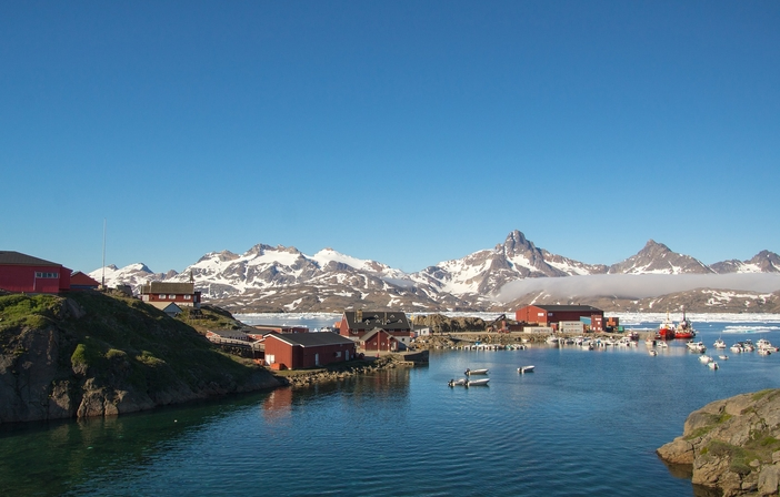 Greenland's port