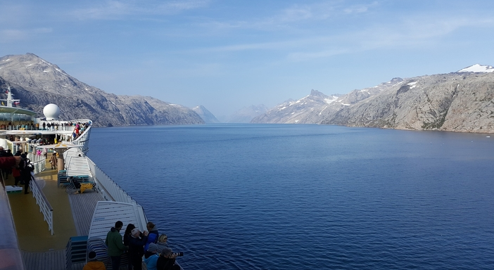 Arctic cruise: Prince Christian Sound